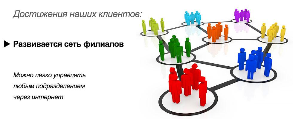 Развивается сеть филиалов