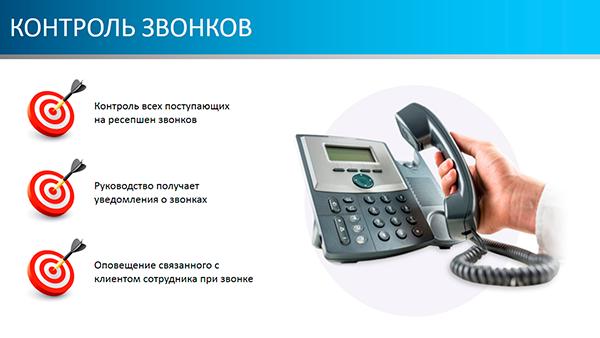 Контроль звонков