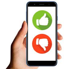 Оценка по СМС